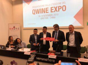 """Il tour del vicesindaco di Qingtian a Vinitaly – Conferenza """"Le nuove opportunità del mercato cinese"""""""